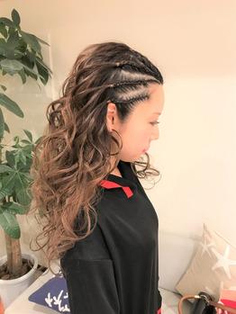 安室ちゃんコンサートのためにヘアセットを受けた方々!