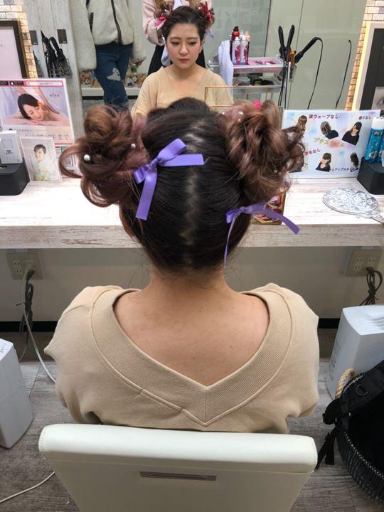 uleaのライブヘアセット