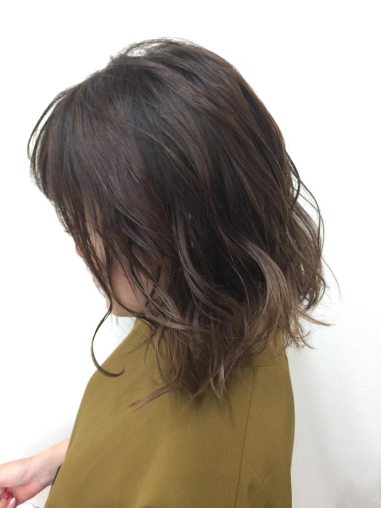 ウレアのヘアセットを受けた方の写真