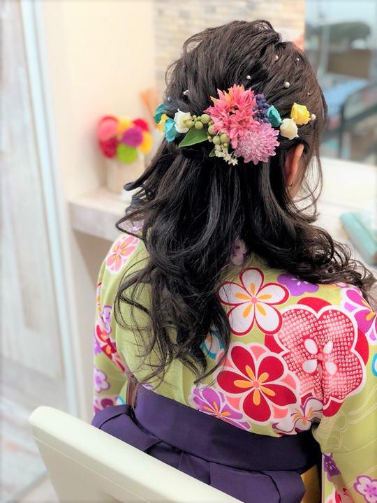 ウレアのヘアセット&着付けのイメージ写真