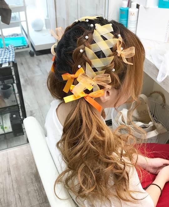 ウレアのヘアセット