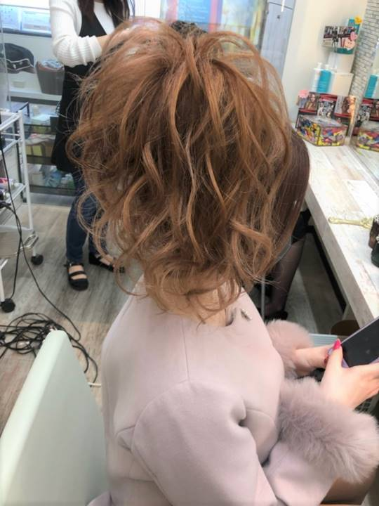 SEXY ZONEライブのコンサート用ヘアセット写真:札幌ウレア