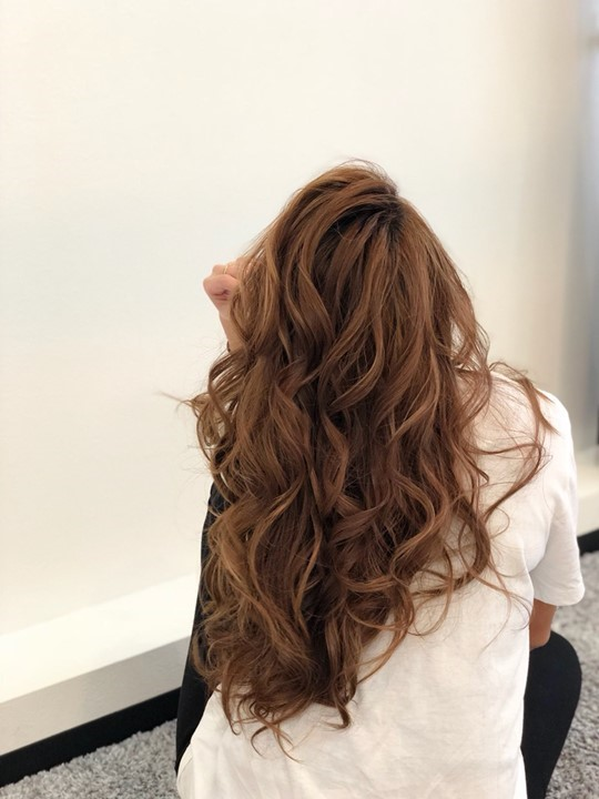 ウレアのヘアセット画像