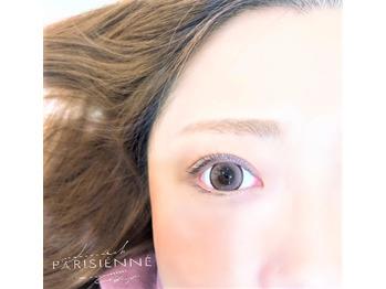 パリジェンヌラッシュリフトxカラコンの写真