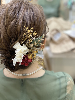 ウレアの結婚式ヘアアレンジ・着付けのイメージ写真