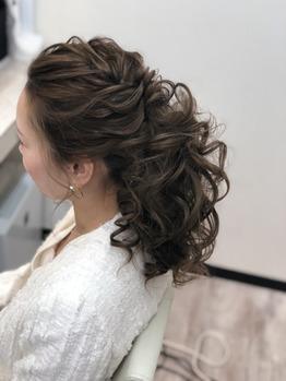 ウレアのヘアアレンジイメージ写真