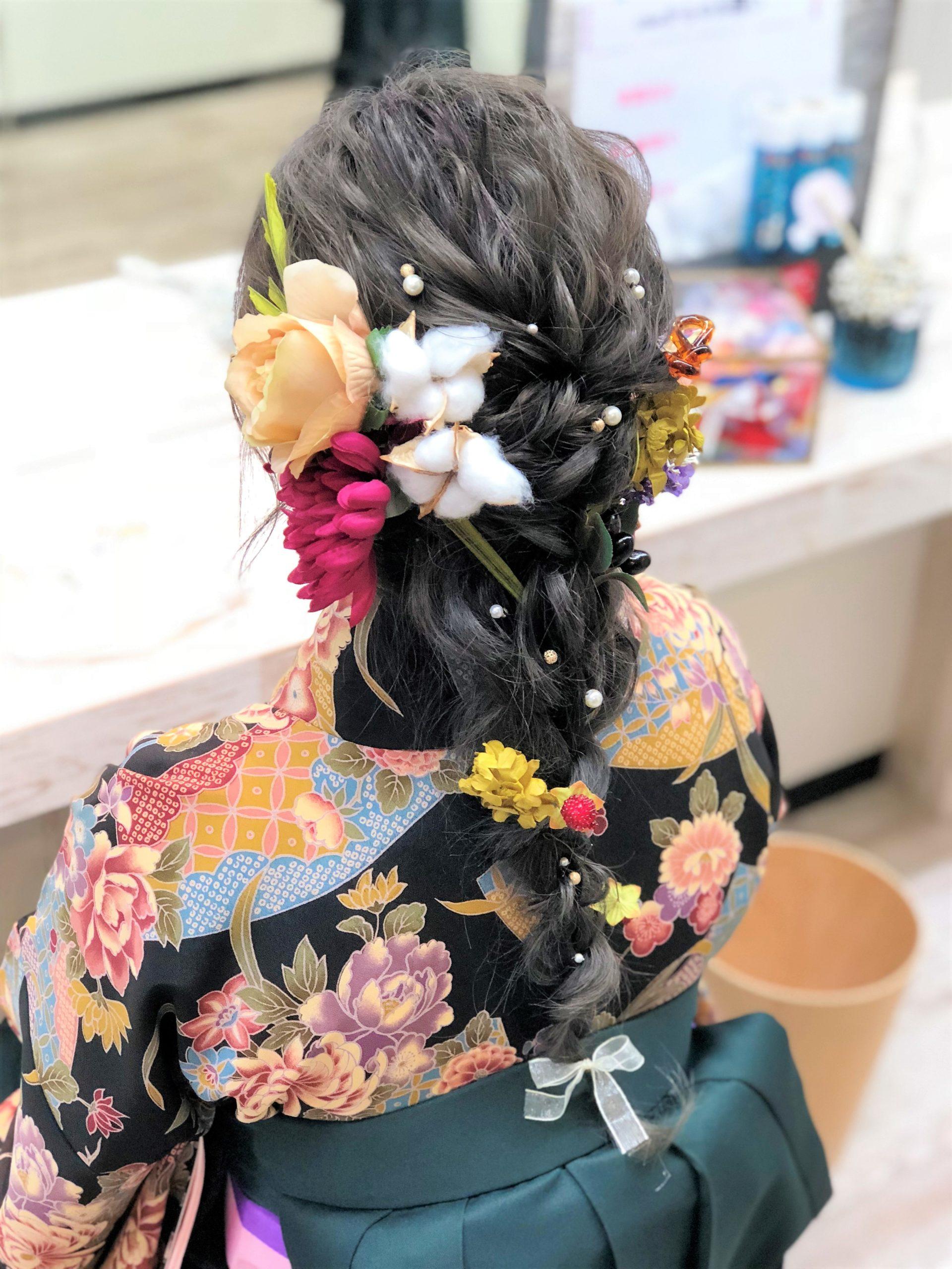 札幌ウレアの卒業式(着付け+ヘアセット)のイメージ写真
